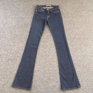 J Brand dark denim boot cut jeans