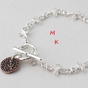 Jewelry - 🍄SILVER LINK BRACELET 🍄