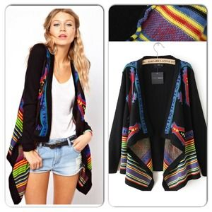Host Pick 3/5 NWOT Bohemian/Tribal Cardigan