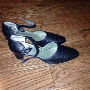 Yves Saint Laurent Shoes - Authentic YSL pewter pumps