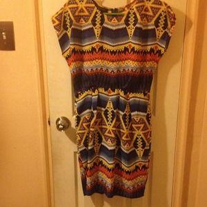 MM Couture Aztec print dress!!