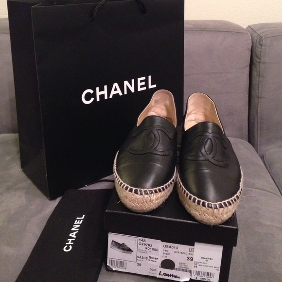00 Authentic Chanel Espadrille Double