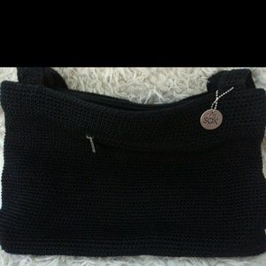 The Sak Black Crochet Handbag : 57% off The Sak Handbags - The Sak Crochet Black Purse from ! michelle ...
