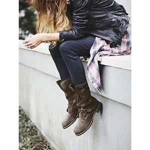 Brand new Free People Rayna Wrap Boots