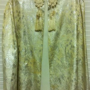 Japanese silk evening cape