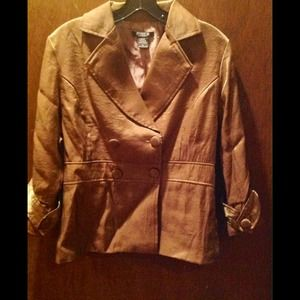 MOKA Sport GOLD Double Breast Button Up Jacket