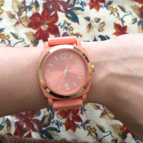 Anthropologie Accessories - Anthropologie coral watch