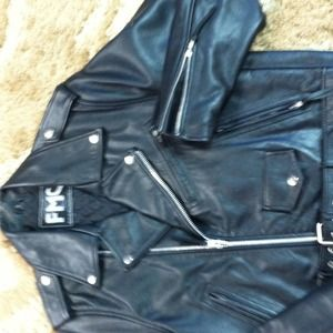 First Manufacturing Co. Inc  Jackets & Blazers - Leather Bikers Jacket