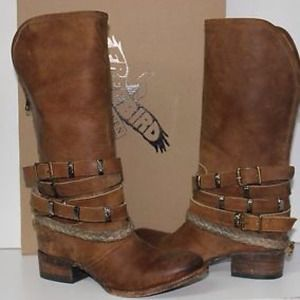 NIB Freebird Free Bird Drover Boho Leather Boots