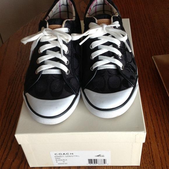 43% off Coach Shoes - COACH 'Barrett' sneakers, signature ...