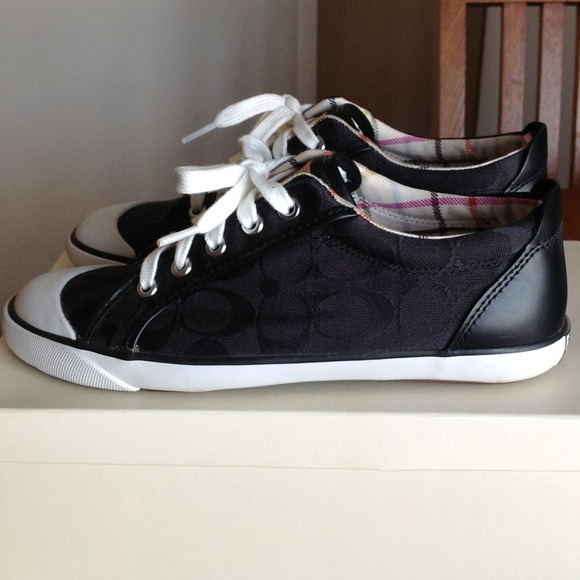 all black coach sneakers