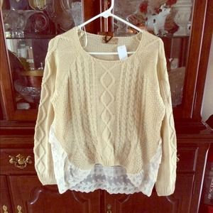 LF Sweaters - 💕$47 pp💕LF Lace Sweater
