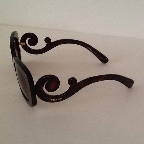 Prada Baroque Sunglasses Purple Nwt Prada Baroque Sunglasses