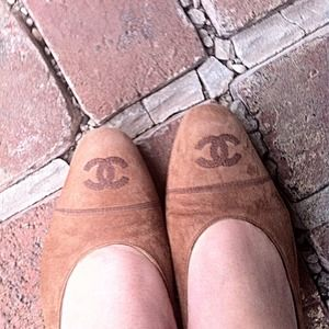CHANEL Shoes - Adorable Vintage Chanel Flats
