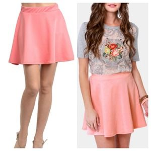 PRE-ORDER Fun & Flirty Pink Skater Skirt