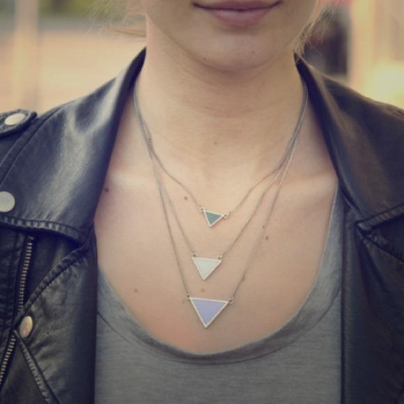 Jewelmint Jewelry - SOLD - Jewelmint Aqua Points Necklace