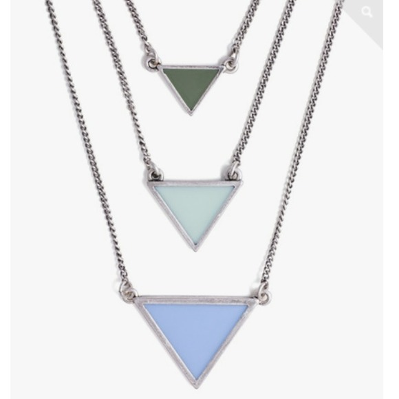 Jewelmint Jewelry - SOLD - Jewelmint Aqua Points Necklace