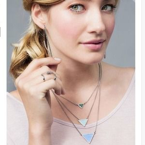 Jewelmint Jewelry - SOLD - Jewelmint Aqua Points Necklace 4