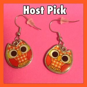 Jewelry - (H3) 🦄5 for $35🦄 Owl Earrings!