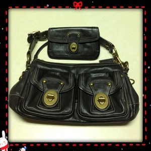 *FINAL REDUCTION* Coach Black Leather Legacy Bag