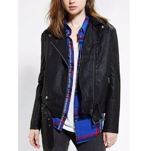 Urban Outfitters Jackets & Blazers - Silence and Noise black moto jacket