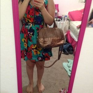 Deux lux sequined purse