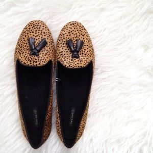 Zara Shoes - ✨HP!✨ Pony hair animal print loafers! 1