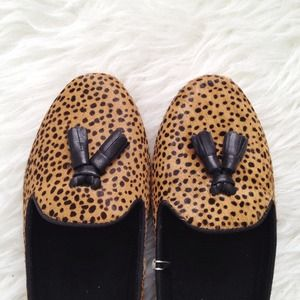 Zara Shoes - ✨HP!✨ Pony hair animal print loafers! 2