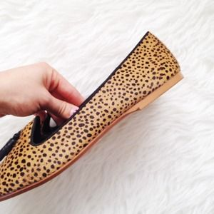 Zara Shoes - ✨HP!✨ Pony hair animal print loafers! 4