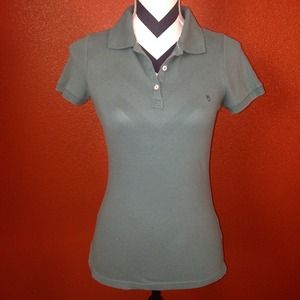 LAST CHANCE LOWEST PRICE  Teal Polo Shirt Med