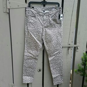 GAP Denim - Leopard Print Skinnies by GAP