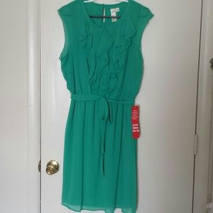 Seafoam Green Chiffon Dress