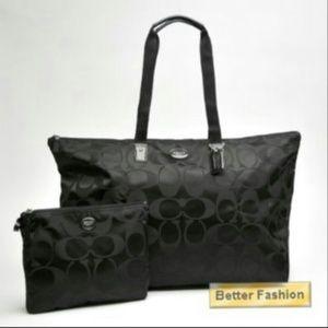NWT!!!!  Coach weekender bag.