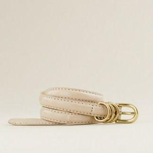 J.Crew Patent Leather Belt