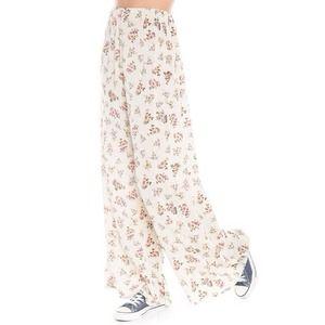 Brandy Melville Floral Aarika Pants