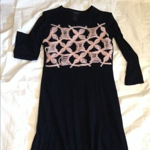 Custo Barcelona black cotton dress