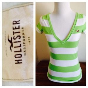 🌞Lime Green Striped