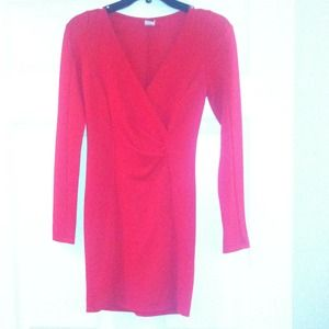 Size small form fitting red Windsor dress