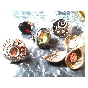 Accessories - Lot of vintage rings