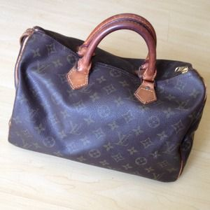 100% Authentic Vintage Louis Vuitton Speedy 30
