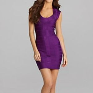 HP🎉 French Connection purple bandage dress
