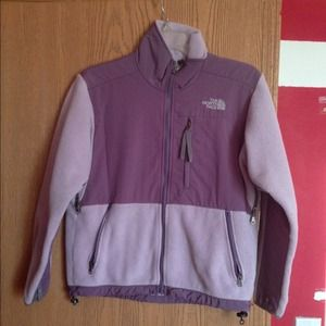 Purple denali north face