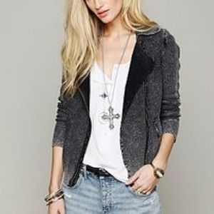 Free People Zip Up Sweater *NEW*