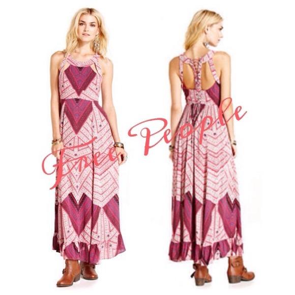 Geometric Maxi Dress