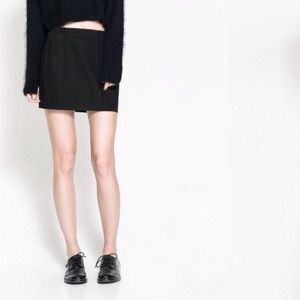 Zara Dresses & Skirts - Zara black cotton skirt