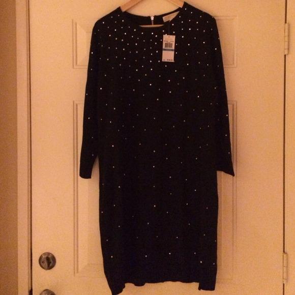 de9aedbaab6 Michael Kors Studded Sweater Dress