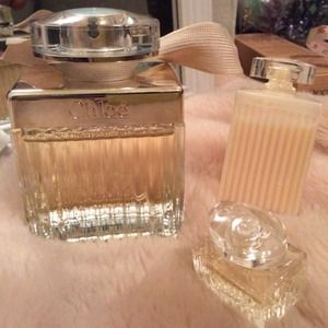 Authentic Chloé Eau de Parfum 2.5oz set