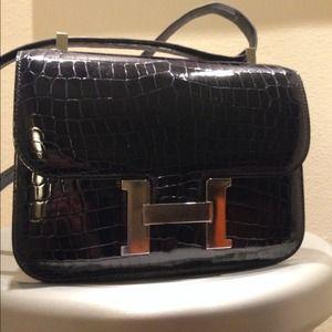 13% off Hermes Handbags - Brand new Hermes Constance short wallet ...