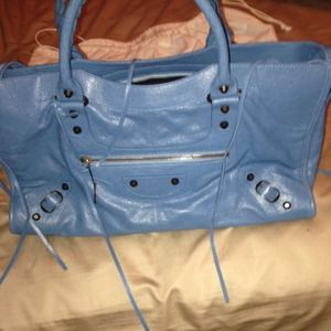 Balenciaga city bag this blue no longer available