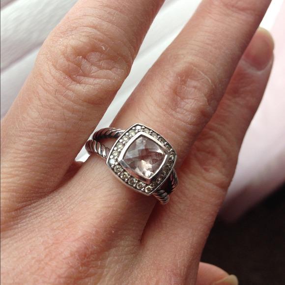6dced3d48d5d1 David Yurman Jewelry - Petite Albion Morganite size 6
